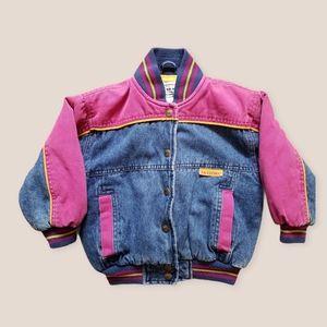 Vintage 90s Arizona Jean Co pink denim jacket, 4